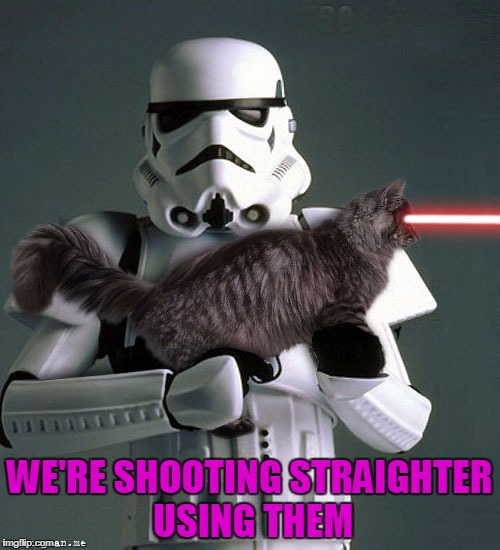 WE'RE SHOOTING STRAIGHTER USING THEM | made w/ Imgflip meme maker
