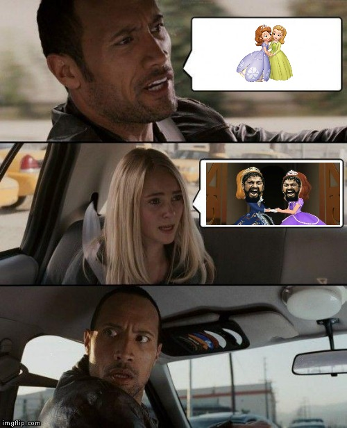 300 The First Driving (2) | image tagged in memes,the rock driving | made w/ Imgflip meme maker