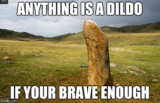 looks good enough to me | ANYTHING IS A D**DO IF YOUR BRAVE ENOUGH | image tagged in memes,images,funny | made w/ Imgflip meme maker