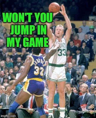 WON'T YOU JUMP IN MY GAME | made w/ Imgflip meme maker