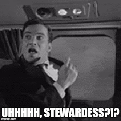 UHHHHH, STEWARDESS?!? | made w/ Imgflip meme maker