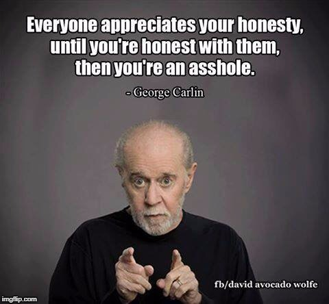 Brain Droppings | image tagged in george carlin | made w/ Imgflip meme maker