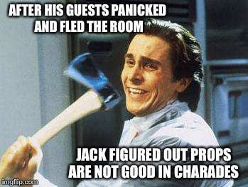 "Yes... ""The shining"" was the right answer 