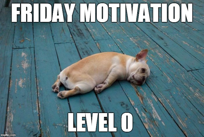 FRIDAY MOTIVATION LEVEL 0 | image tagged in bobbybobbob | made w/ Imgflip meme maker