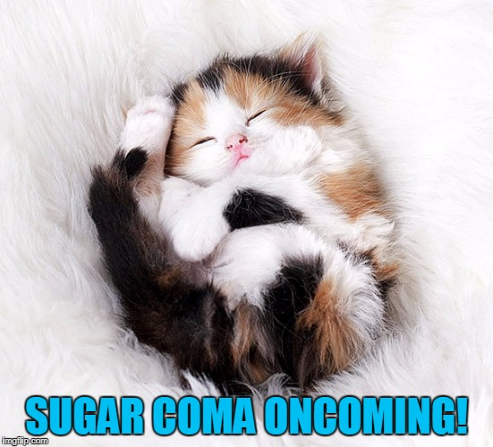 SUGAR COMA ONCOMING! | made w/ Imgflip meme maker