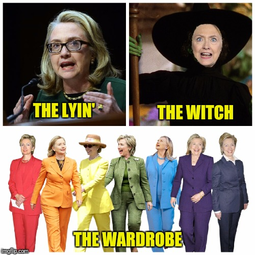 THE LYIN' THE WARDROBE THE WITCH | made w/ Imgflip meme maker