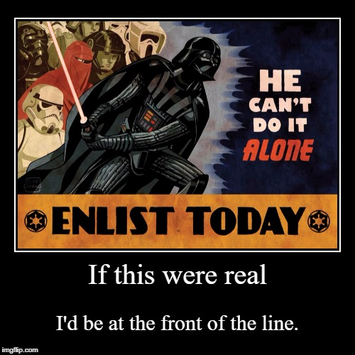 If this were real | I'd be at the front of the line. | image tagged in funny,demotivationals | made w/ Imgflip demotivational maker