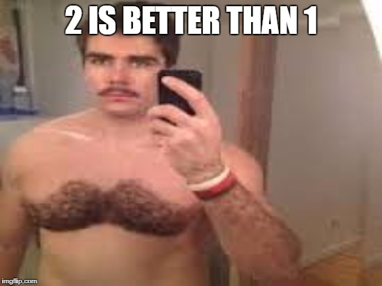 2 IS BETTER THAN 1 | made w/ Imgflip meme maker