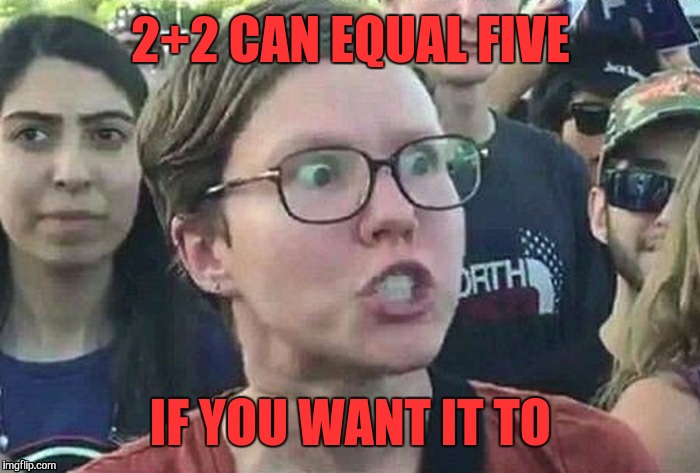 2+2 CAN EQUAL FIVE IF YOU WANT IT TO | made w/ Imgflip meme maker