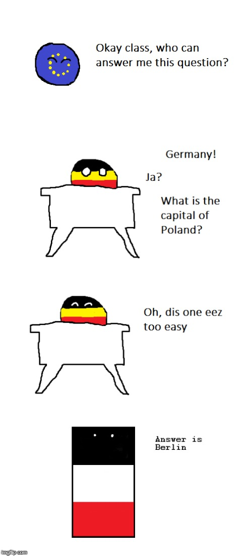 Another Polandball Comic Redrawn By Me | _ | image tagged in polandball,paint,anschluss,germany | made w/ Imgflip meme maker