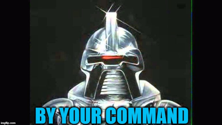 BY YOUR COMMAND | made w/ Imgflip meme maker