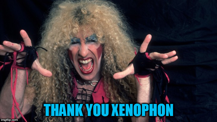 THANK YOU XENOPHON | made w/ Imgflip meme maker