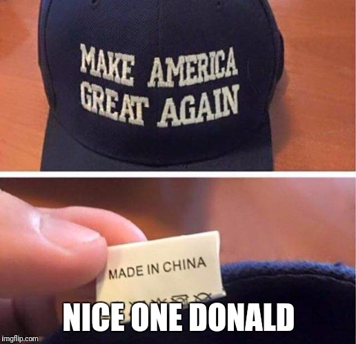 NICE ONE DONALD | image tagged in sir_unknown,donald trump,dank memes | made w/ Imgflip meme maker