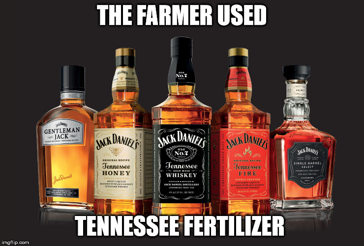 THE FARMER USED TENNESSEE FERTILIZER | made w/ Imgflip meme maker