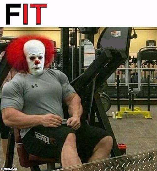 Meanwhile, at the Castle Rock Gym... | image tagged in gym | made w/ Imgflip meme maker