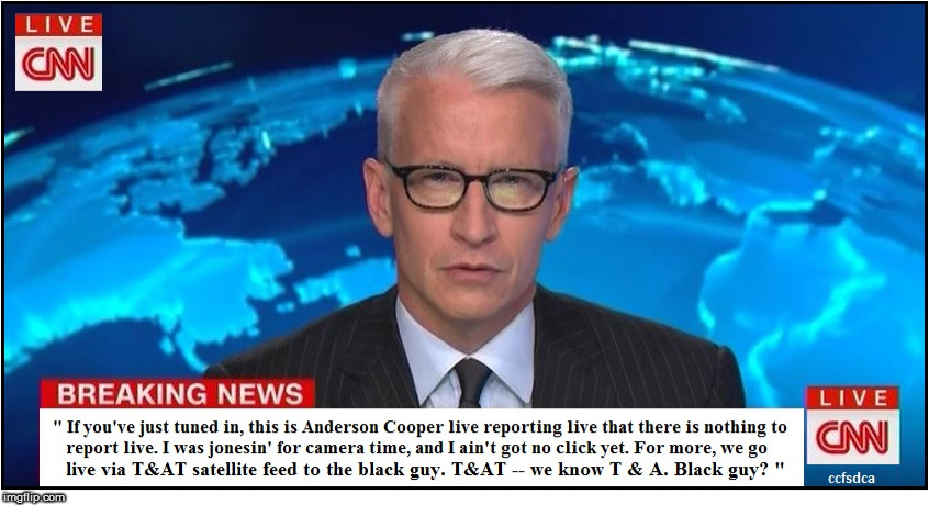 Anderson Cooper Jonesin' for Camera Time | image tagged in meme,anderson cooper,cnn | made w/ Imgflip meme maker