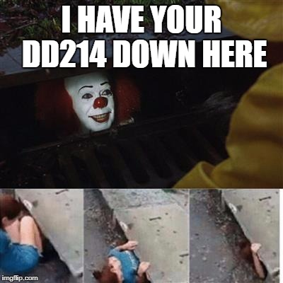 pennywise in sewer imgflip