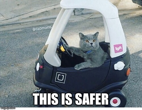 THIS IS SAFER | made w/ Imgflip meme maker