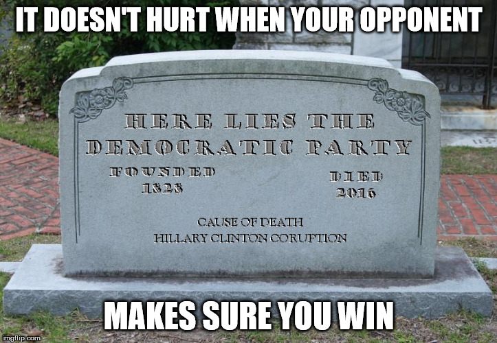 IT DOESN'T HURT WHEN YOUR OPPONENT MAKES SURE YOU WIN | made w/ Imgflip meme maker