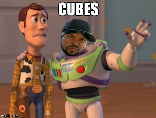 X, X Everywhere Meme | CUBES | image tagged in memes,x,x everywhere,x x everywhere | made w/ Imgflip meme maker