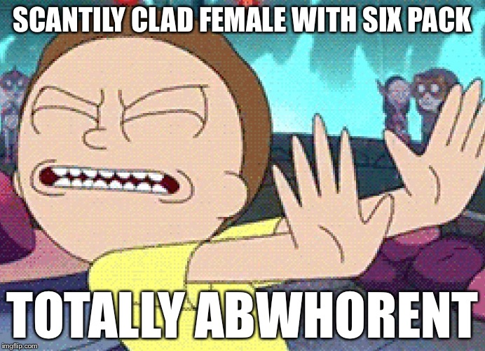Soft is for men. Hard is for women. | SCANTILY CLAD FEMALE WITH SIX PACK TOTALLY ABW**RENT | image tagged in gross,memes,bad puns,dank,dank memes,too dank | made w/ Imgflip meme maker