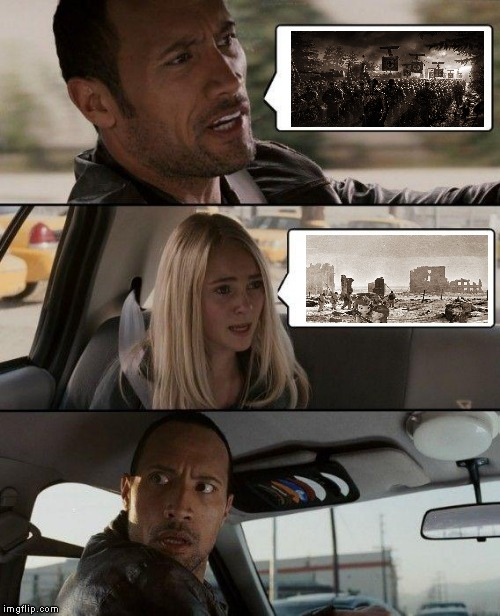 WW2 Princess Meme | image tagged in memes,the rock driving | made w/ Imgflip meme maker