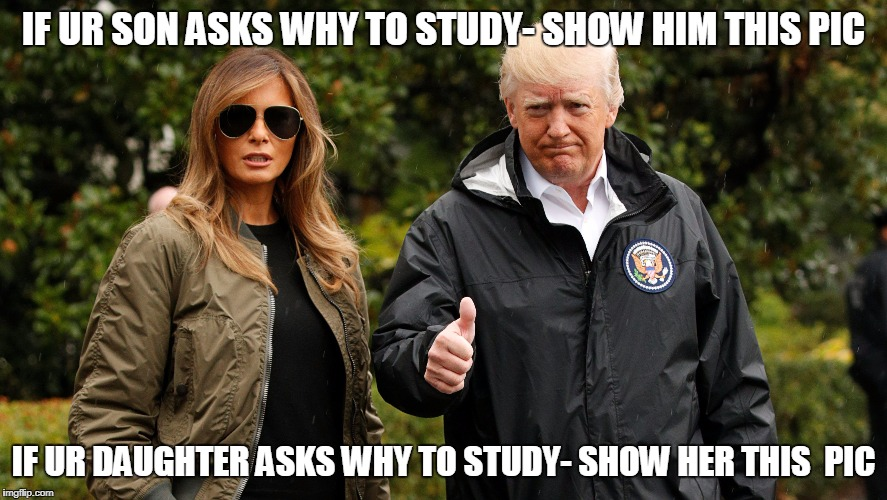 IF UR SON ASKS WHY TO STUDY- SHOW HIM THIS PIC IF UR DAUGHTER ASKS WHY TO STUDY- SHOW HER THIS  PIC | image tagged in education | made w/ Imgflip meme maker