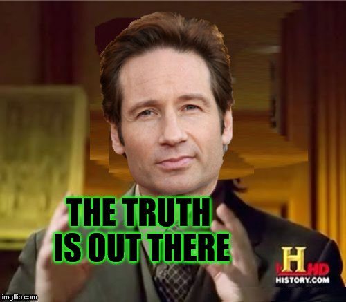 Fox Aliens | THE TRUTH IS OUT THERE | image tagged in fox aliens | made w/ Imgflip meme maker