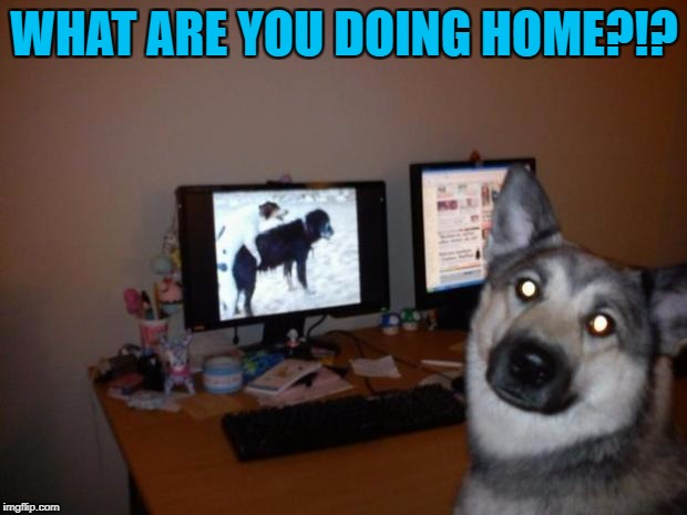 WHAT ARE YOU DOING HOME?!? | made w/ Imgflip meme maker
