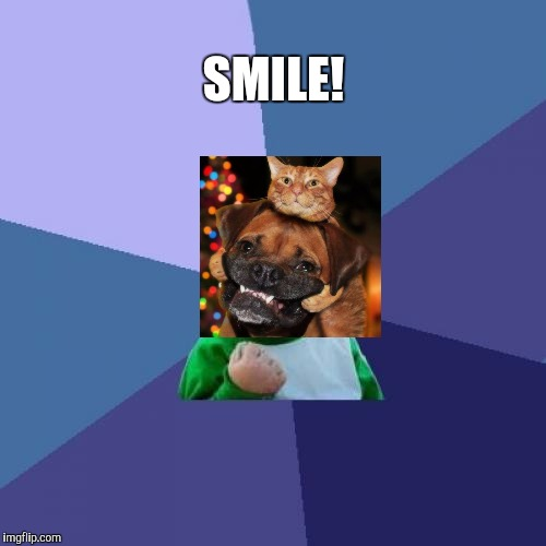 Success Kid Meme | SMILE! | image tagged in memes,success kid | made w/ Imgflip meme maker