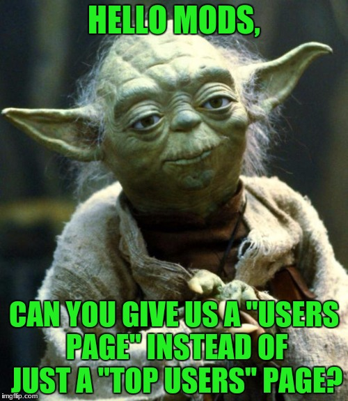 "I'm gonna do some ""praying"" to the mods this time. 
