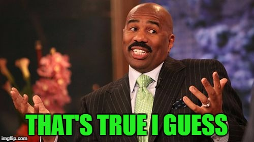 Steve Harvey Meme | THAT'S TRUE I GUESS | image tagged in memes,steve harvey | made w/ Imgflip meme maker