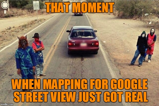 "Google ""The Streets"" View 
