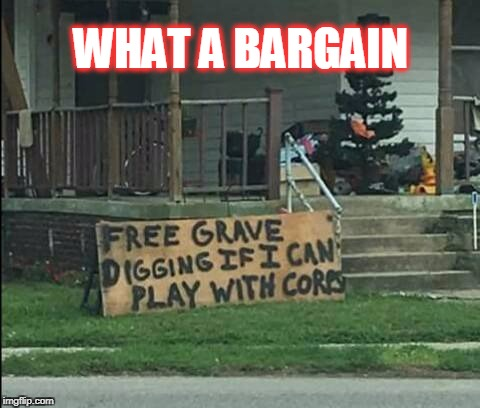 bargain  | WHAT A BARGAIN | image tagged in corpse party,signs,odd,bargain | made w/ Imgflip meme maker
