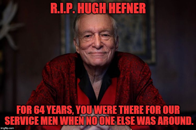 "Thank you for ""Single Handedly"" supporting our troops since 1953! 