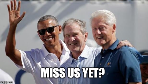 MISS US YET? | image tagged in miss us yet | made w/ Imgflip meme maker