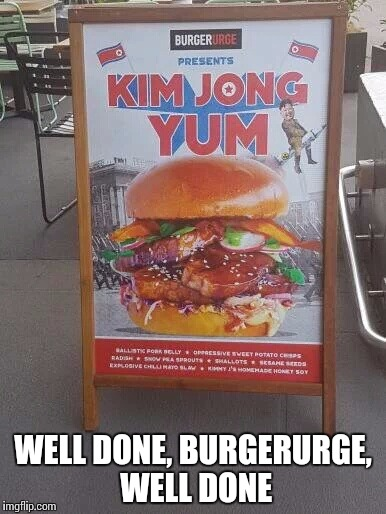 This is what capitalism is | WELL DONE, BURGERURGE, WELL DONE | image tagged in rocket man,welldone | made w/ Imgflip meme maker
