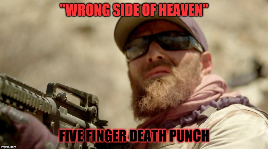 """WRONG SIDE OF HEAVEN"" FIVE FINGER DEATH PUNCH 