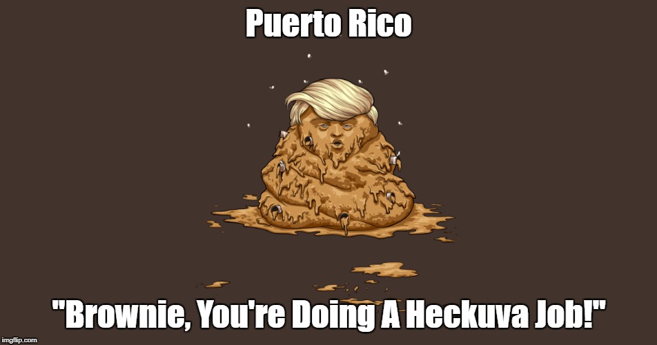 "Puerto Rico: ""Brownie, You're Doing A Heckuva Job"" 