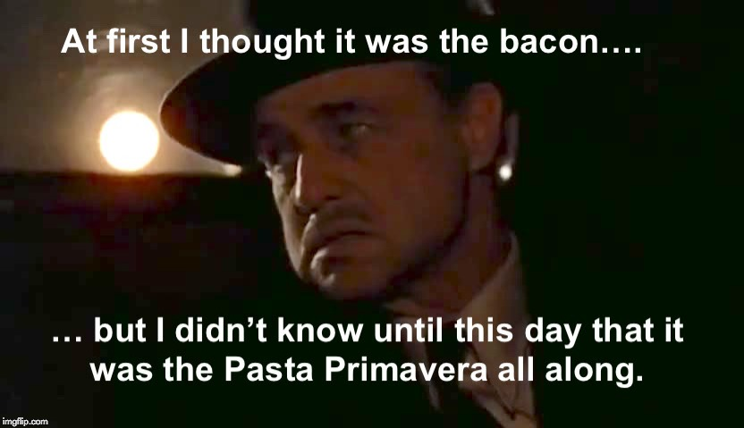 No Carbs | image tagged in carbs,godfather,vito corleone,bacon | made w/ Imgflip meme maker