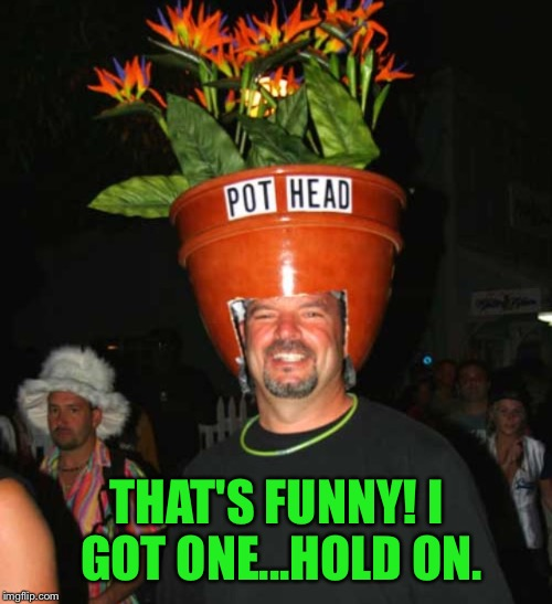 THAT'S FUNNY! I GOT ONE...HOLD ON. | made w/ Imgflip meme maker