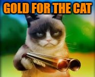 GOLD FOR THE CAT | made w/ Imgflip meme maker