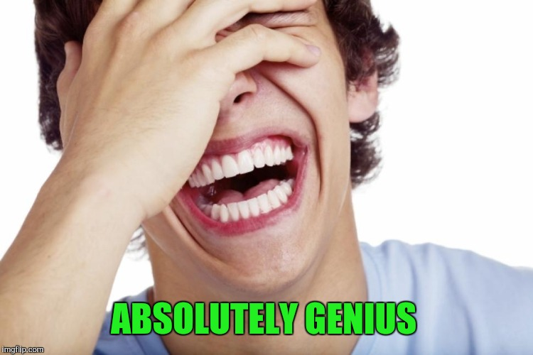 ABSOLUTELY GENIUS | made w/ Imgflip meme maker