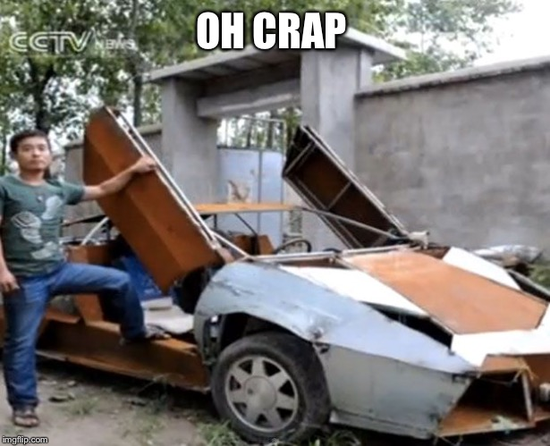 oops | OH CRAP | image tagged in oops | made w/ Imgflip meme maker