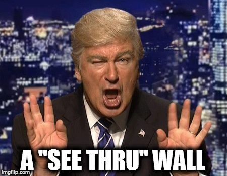 "A ""SEE THRU"" WALL 
