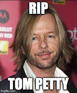 RIP TOM PETTY | image tagged in tom petty | made w/ Imgflip meme maker