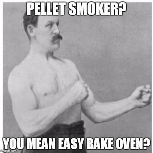 Pellet smokers