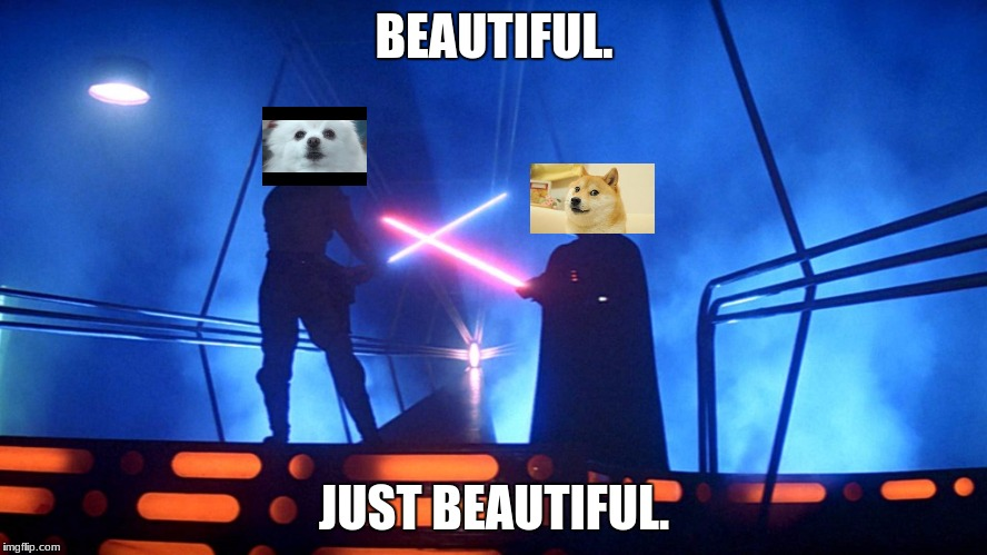 Lightsaber | BEAUTIFUL. JUST BEAUTIFUL. | image tagged in lightsaber | made w/ Imgflip meme maker