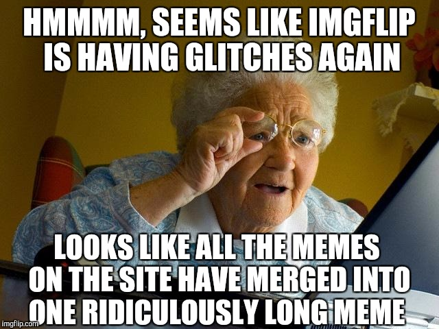 Funny Meme Pictures : Kudos to raydog for making the world s longest meme and actually