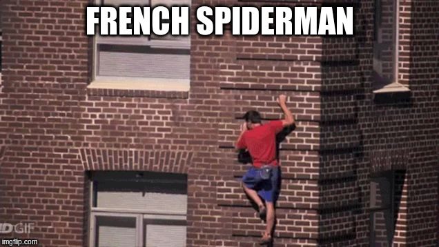 FRENCH SPIDERMAN | made w/ Imgflip meme maker